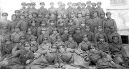 Картечната рота на Трети пехотен бдински полк 1928 г.