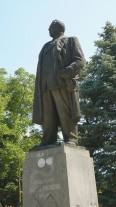 Паметник на Христо Михайлов в Монтана, България