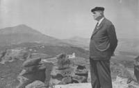Патриархът на българската астрономия акад. Никола Бонев в Белоградчик 1965
