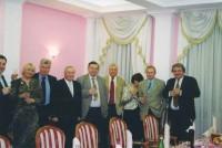 Tържество в Москва с професори от Московския университет и други