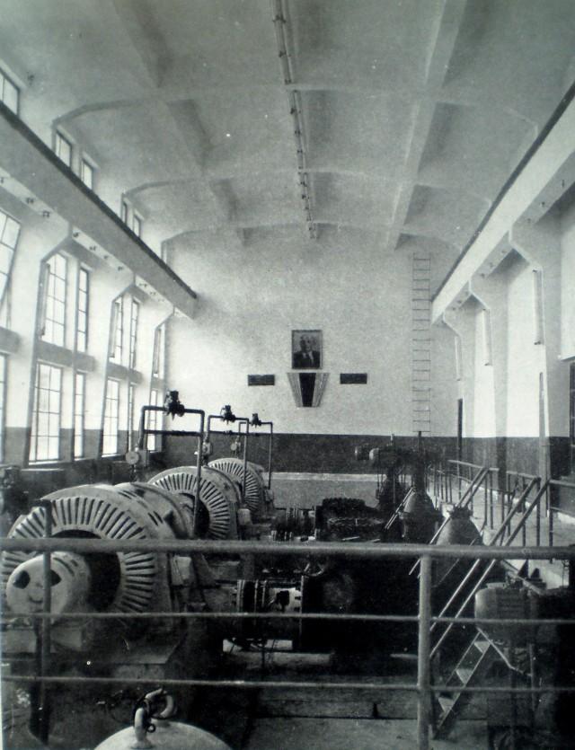 Машинната зала на помпена станция Ново село-2