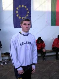 """19  годишният Дан Валентин от Румъния пристигна на проби в """"Бдин"""" Видин"""