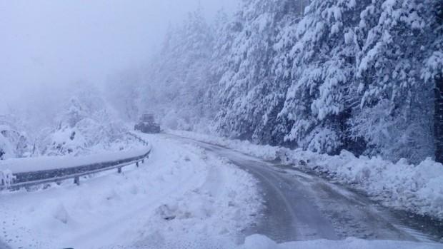 47см е снежната покривка в град Белоградчик