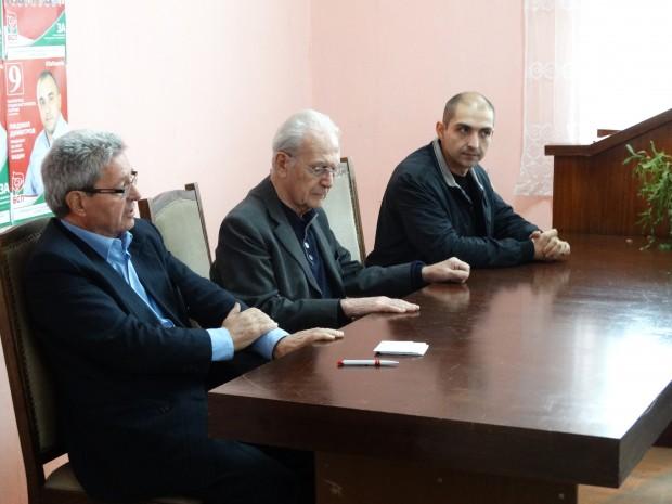 Кандидатът за Кмет на Видин от БСП Людмил Димитров се срещна с членовете на движението на ветераните от БСП