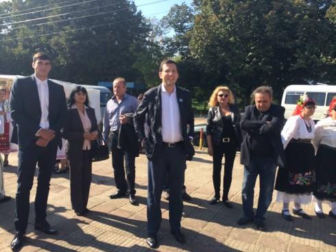 Кандидат-депутатите от ДПС Видин посетиха град Дунавци по случай честването на празника на града, който е на 27 септември