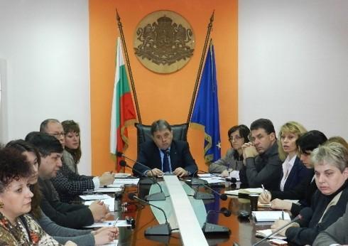 Под председателството на областният управител на област Видин Пламен Стефанов се проведе заседание на Комисията по заетост към Областния съвет