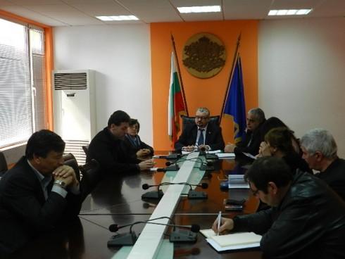 Областният управител на област Видин инж. Цветан Асенов проведе работна среща с кметовете