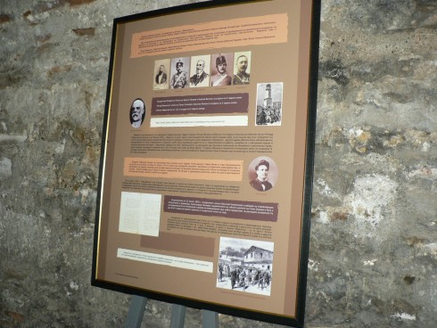 "По повод годишнината, в конферетната зала на крепостта ""Баба Вида"" бе уредена изложба"