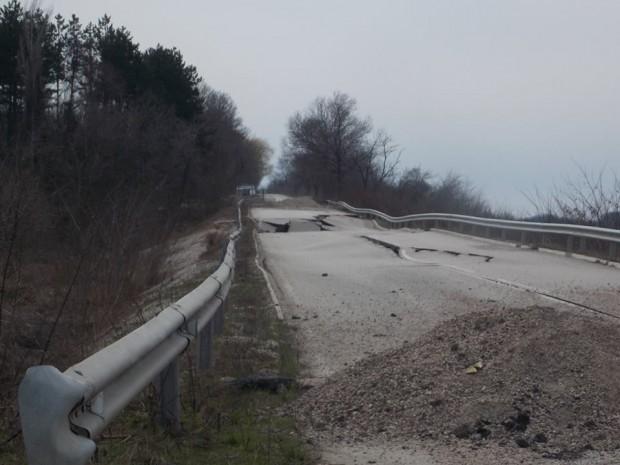 Стартира обществена поръчка за възстановяване на участъка при 10-ти км на път II-14 Видин – Кула – Връшка чука