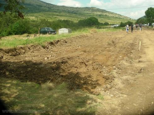 Продължава строителството на пътя от село Салаш до сръбската граница