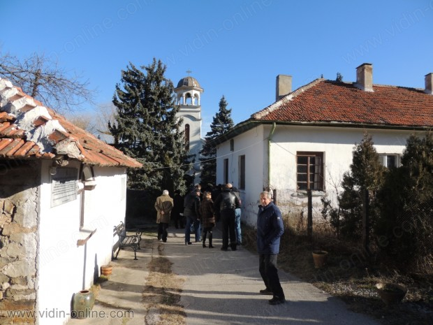 Откриване на паметник в Киреево