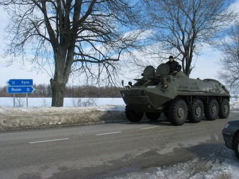 Обстановката в общините от област Видин към 20.02.2012 г