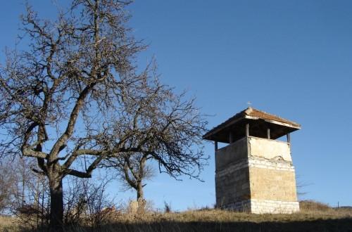 Останки от камбанарията в село Сливовник