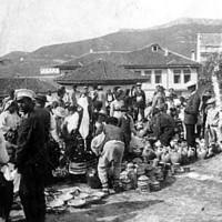 Пазарен ден в Белоградчик 1920
