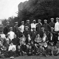 Офицери от 15 пехотен ломски полк и граждани от Белоградчик