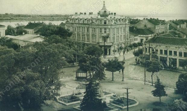Централният площад в град Видин