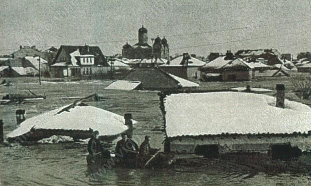 Наводнението във Видин