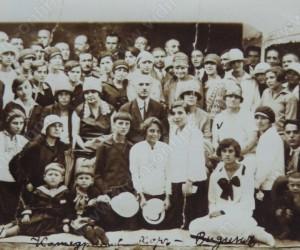 Катедралния хор с диригент Димитър Копоев 1927