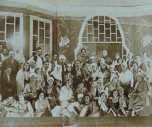 Участниците в операта ТАХИР БЕГОВИЦА 6 юни 1931г.