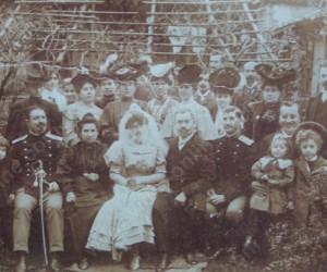 Сватбата на др.Бърни Бончев и Маргарита Корниолей 23 октомври 1906