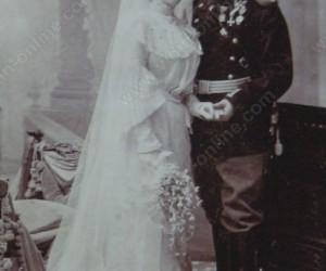 Сватбата на Наталия Велева и Никола Георгиев 1900