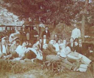 Земеделци от Видин на излет 1922
