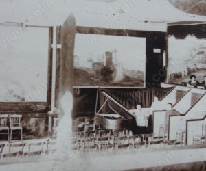 Интериор на кино КАЛЕ 1910г.