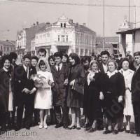 Сватбени снимки на площад Бдинци