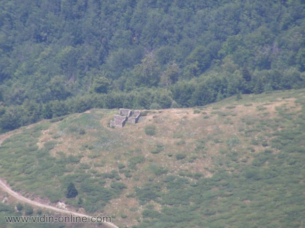 Останки от сръбски граничен пост