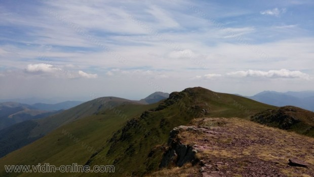 Снимки от връх Миджур