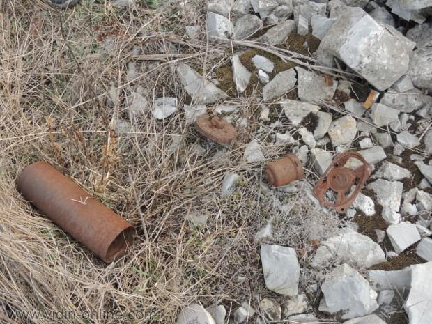 останки от джип