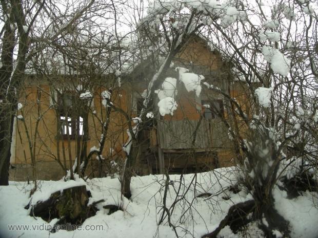 Село Върба през зимата