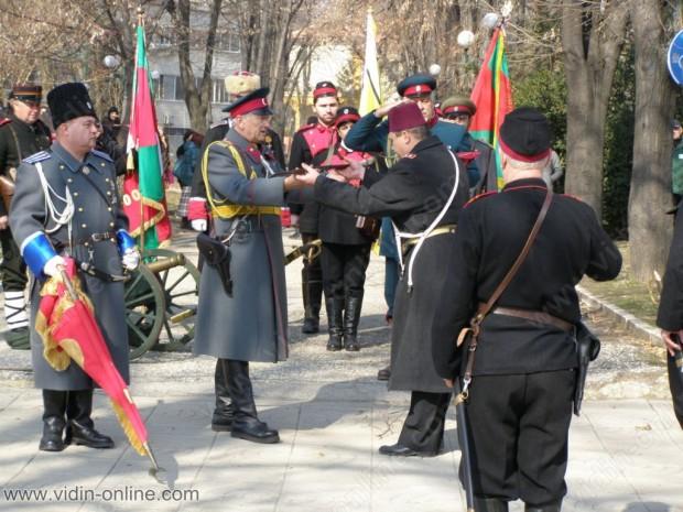 """За националния празник на 3 март Патриотичен клуб """"Бдинци"""" организира историческа възстановка на превземането на Видинската крепост"""
