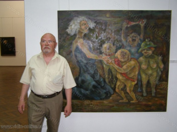 Изложба на Тома Томов