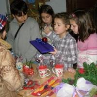 Коледен благотворителен базар в СОУ Цар Симеон Велики