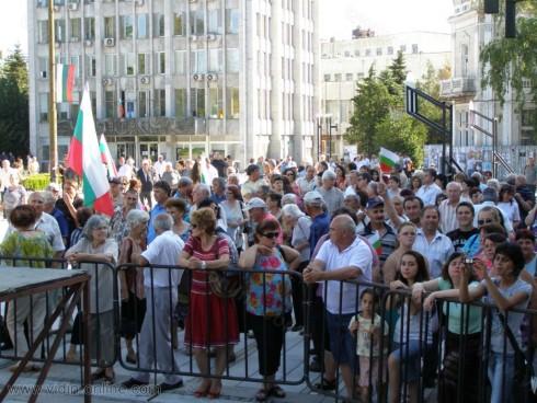 Над 11 хиляди подписа събраха видинчани в подкрепа на кабинета