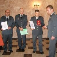 Награждаване на Пожарникар на годината във Видин