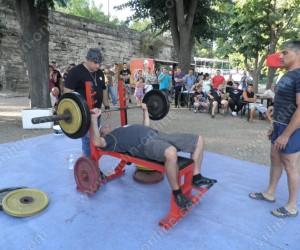 първият общоградски турнир по вдигане на тежести от тилен лег във Видин