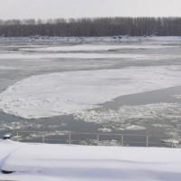Видин - ледоход по дунав