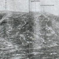 Позициите на Бдинци на кота 1248, Братин дол, Червената стена