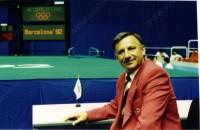 Съдия на Олимпиадата в Барселона 92г