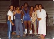 С либийския национален отбор след триумфа на Африканските игри