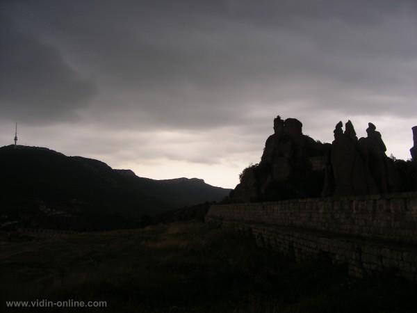 Белоградчишката крепост и скалите