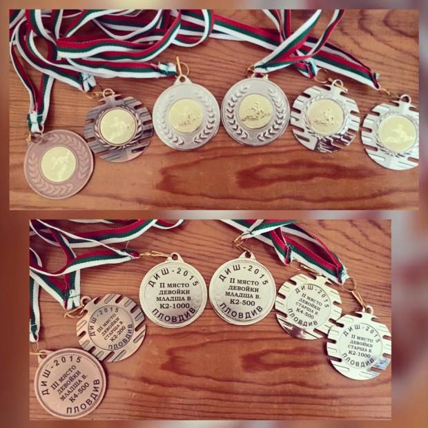 Видинските гребци се прибраха от Държавния шампионат по кану каяк с 34 медала