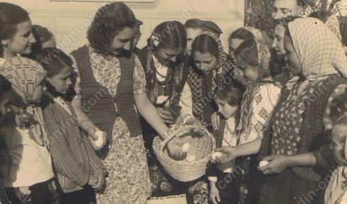 празник в Дунавци 1948 - 1949