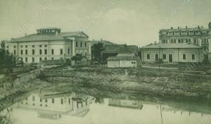 Драматичен театър и ровът - Видин