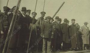 Посрещачи на пристанището - Видин