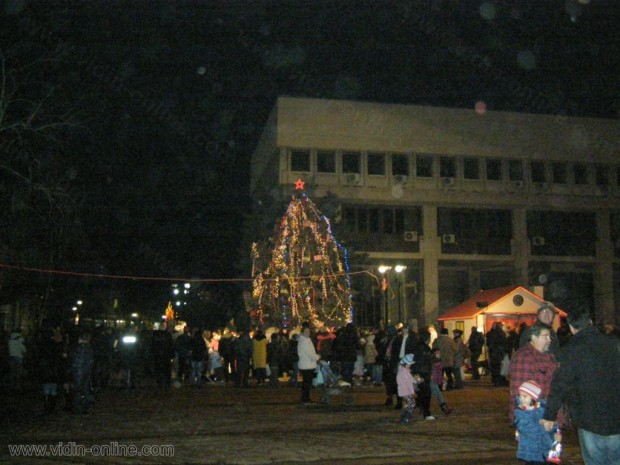 Коледна елха във Видин