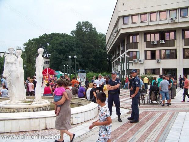 Протест против кмета на Видин